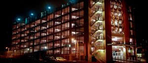 Energy Efficiency Pros parking garage exterior