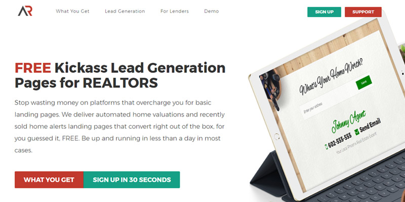 *Brand New – Free Lead Generation Platform for REALTORS