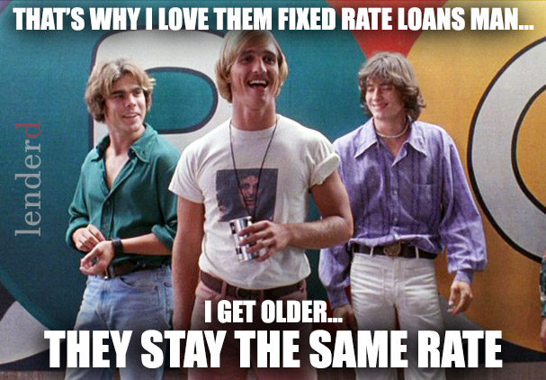 Mortgage Meme Dazed & Confused by Lenderd