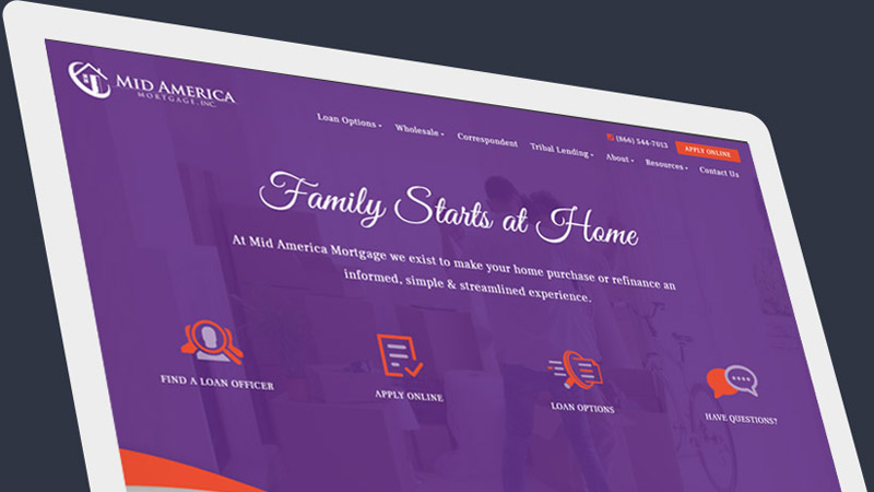 Network Launched: Mid America Mortgage