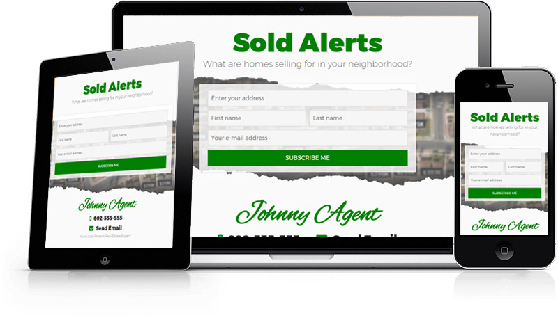 Your Sold Alerts Page