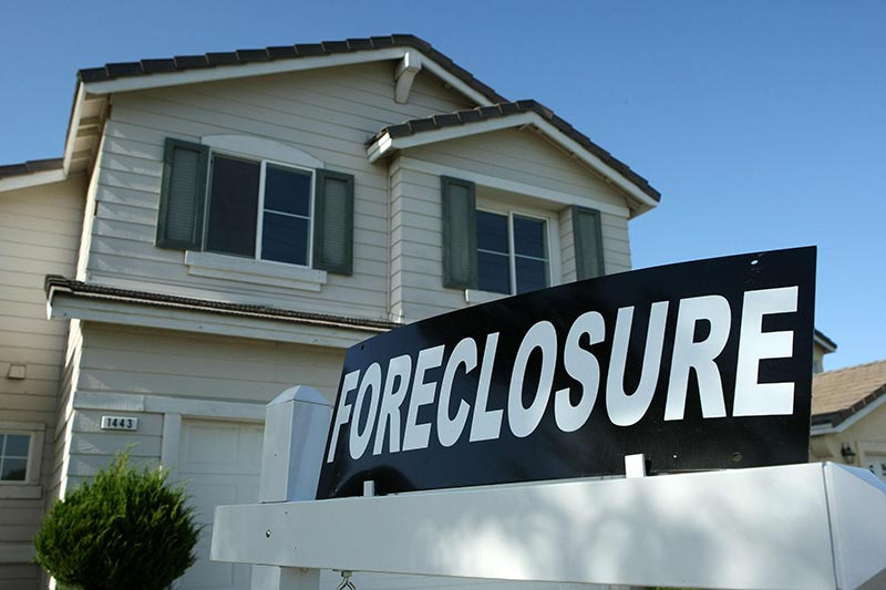 Corporate foreclosures