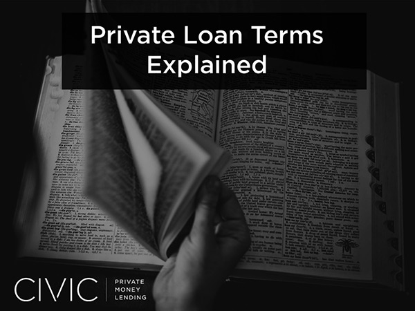 Private Loan Terms Explained