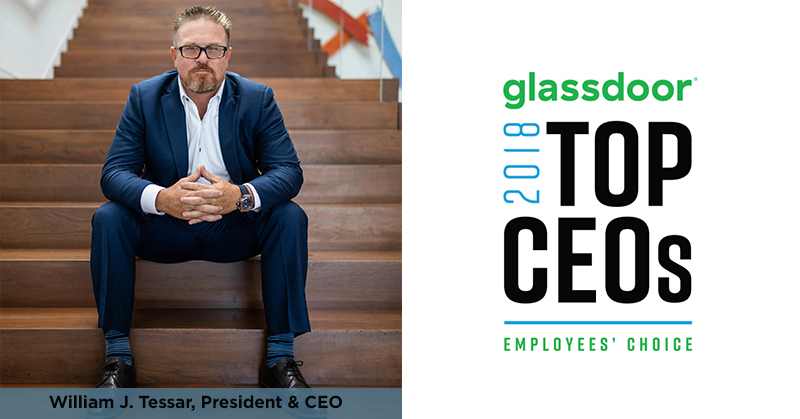 Glassdoor Names William J. Tessar of CIVIC a Top CEO