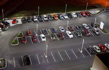LED Lighting Car Dealership Bellingham