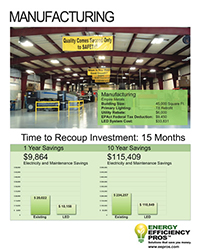 Energy Efficiency Pros Phoenix Manufacturing Case Study
