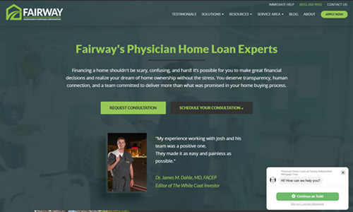 Custom Mortgage Website 6
