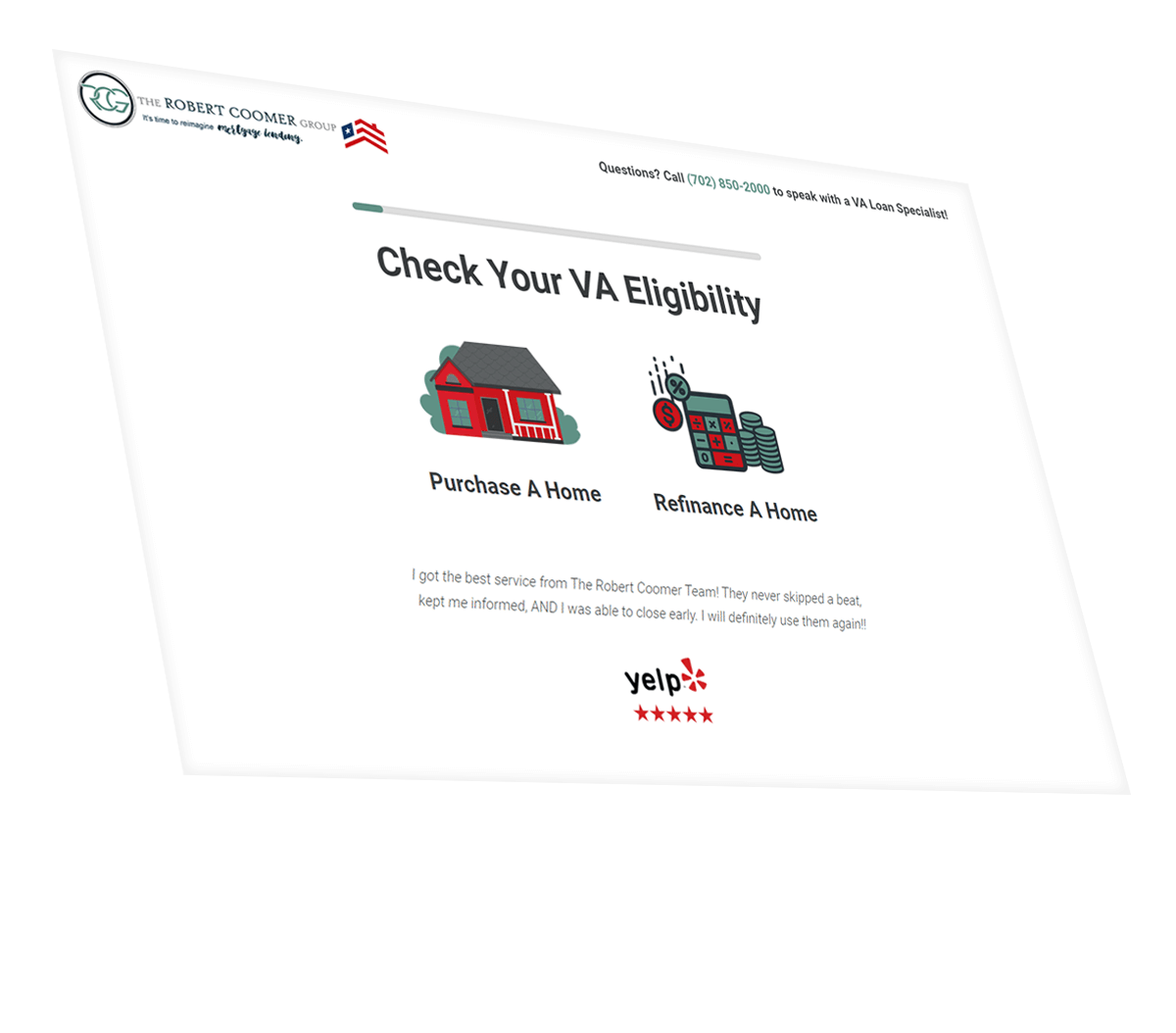 VA Mortgage Website