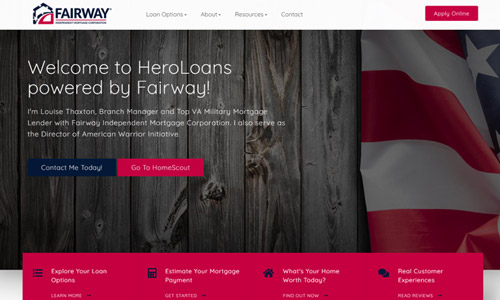 Loan Officer Website Using Theme 5