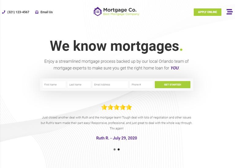 Loan Officer Website 8